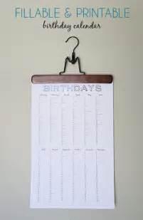 Birthday and anniversary calendar calendar template 2016