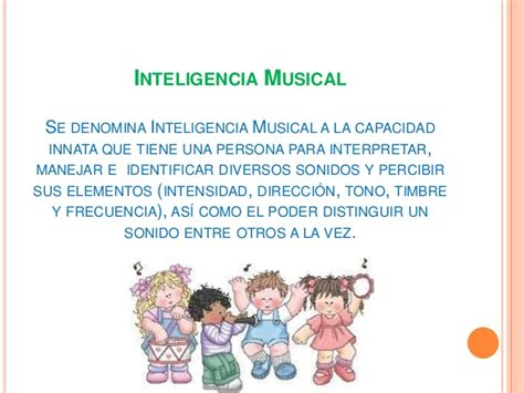imagenes inteligencia musical inteligencia musical