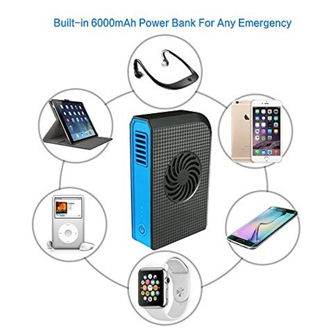Multifunction Usb Mini Fan Power Bank 6000mah skyocean small personal fan with 6000mah power bank mini battery usb desk fan with portable