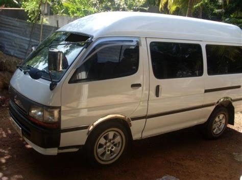 toyota dolphin high roof for sale buy sell vehicles