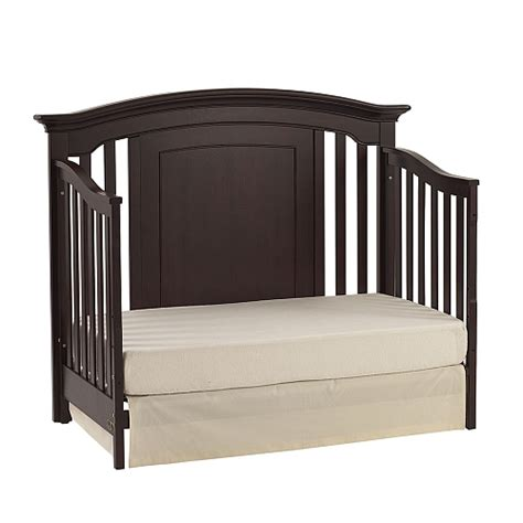 Baby Cache Espresso Heritage Lifetime Crib by Baby Cache Ta Crib Kensington Size Conversion Kit Bed