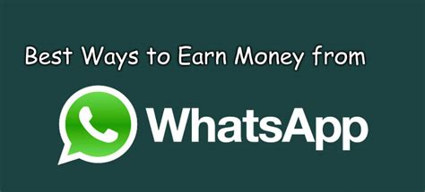 guide tutorial whatsapp how to make money daily how to