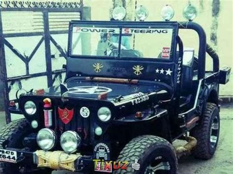 jeep modified black modified jeep used cars in punjab mitula cars