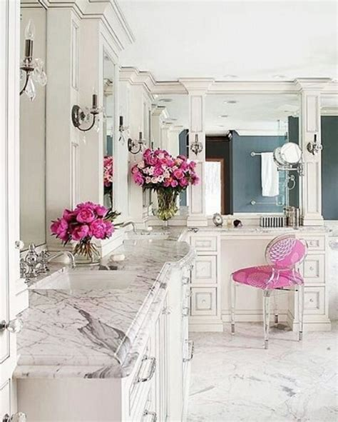 pink and white bathroom beautiful bathroom design ideas for spring 2016 lifestyle