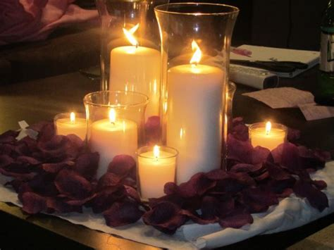 table centerpieces with candles candle centerpiece weddingbee photo gallery