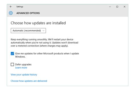 how to update to windows 10 how to change windows update settings windows 10 8 7
