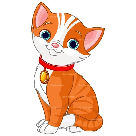 clipart cat clipart orange cat style royalty free vector