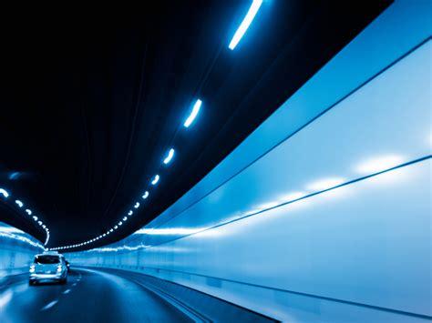 illuminazione gallerie stradali l illuminazione in galleria vira sul led il progetto