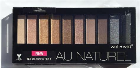 N Au Naturel 10 Pan Eyeshadow Palette 753a Bnb n color icon au naturel 10 pan eyeshadow palette