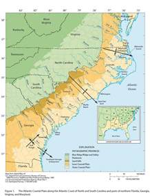 atlantic coastal plain physiographic provinces