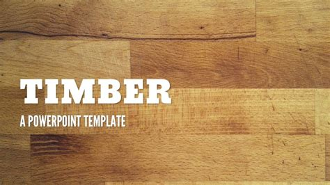 Timber Powerpoint Presentation Templates By 83munkis Graphicriver Wood Powerpoint Template