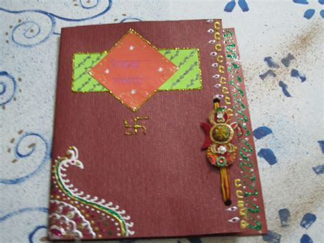 Images Of Handmade Rakhi Cards - quot the world quot rakhi cards