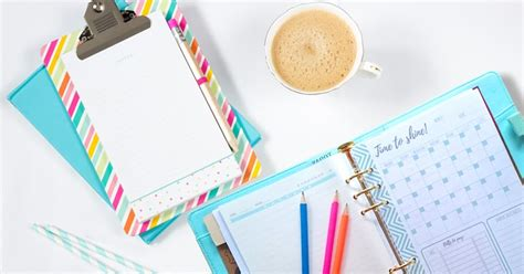 Time To Get Organized Get Your Free Planner Templates | time to get organized get your free planner templates