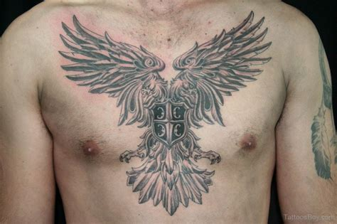 eagle tattoo in chest 41 realistic eagle tattoos on chest