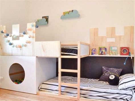 cama infantil ikea ikea hack la cama kura se convierte en castillo decopeques