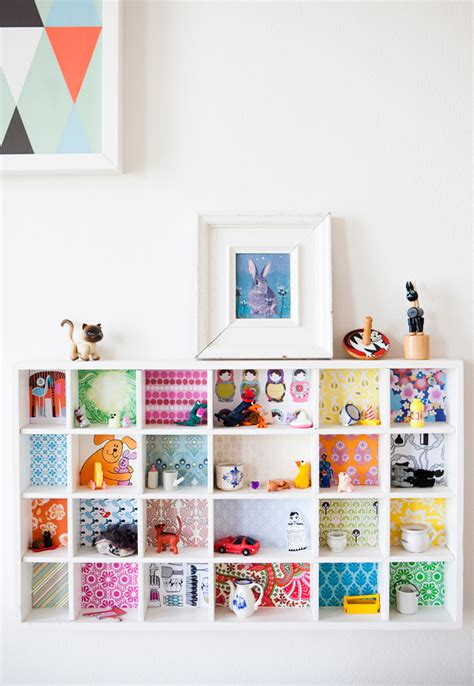 bookshelves wallpaper 30 creative wallpaper uses and project ideas