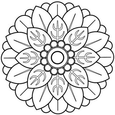radial designs coloring pages 60 im 225 genes de mandalas para colorear dibujos para