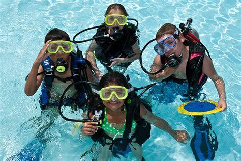 padi dive youth scuba diving programs padi
