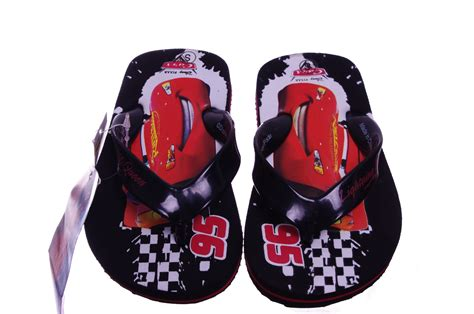 Sandal Disney Original Cars 1 disney cars boys sandals lightning mcqueen shoes flip