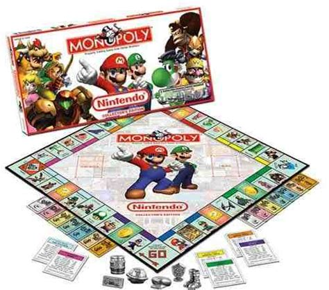 themes of monopoly board games video game board games nintendo monopoly