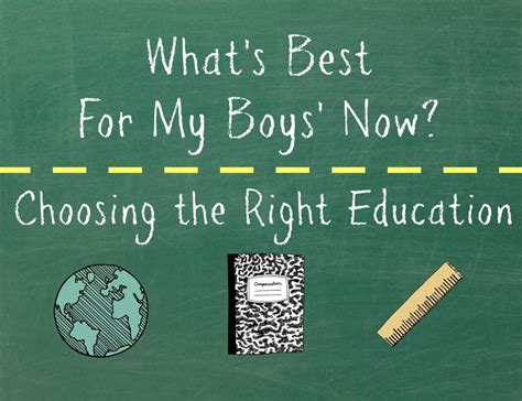 whats popular 2013 what s best for my boys now choosing the right education