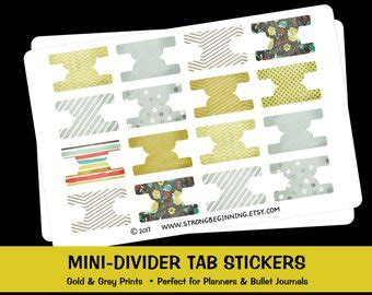 Divider Tab Stickers
