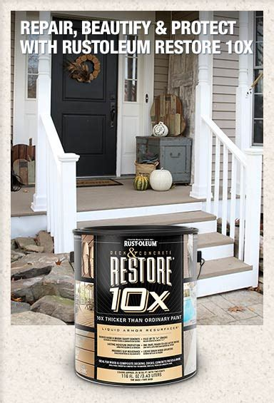 home depot restore paint colors rust oleum restore 10x 4x paint stain at the home depot