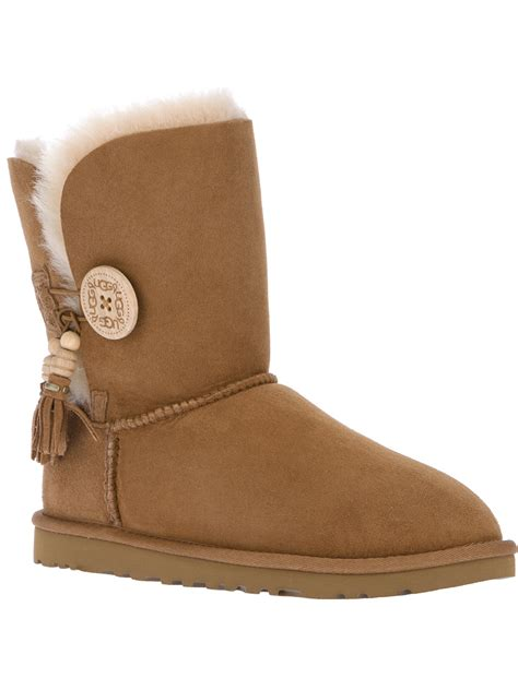ugg bailey charms ugg boot in brown lyst