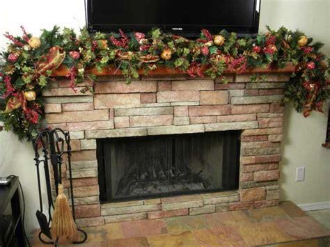 fireplace garland ideas fireplace garland ideas inspirationseek