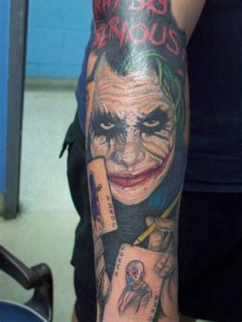 joker tattoos designs clown tattoos designs