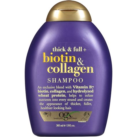Conditioner Ogx Thick Biotin And Collagen ogx thick biotin collagen shoo 13 fl oz