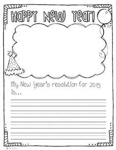 new year writing lesson new year s activities with crafts activities and