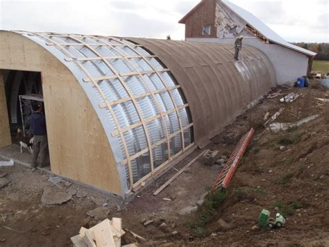 ancient structures with fabric roofs project update a large low energy root cellar