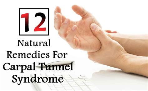 12 remedies for carpal tunnel diy home
