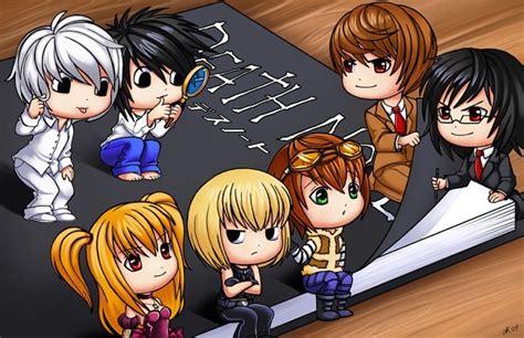 anime art chibi death note kira image 245984 on