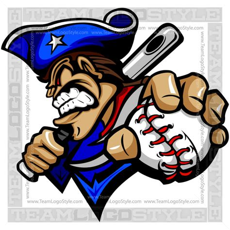 patriot baseball logo vector clipart patriots