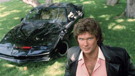 Hasselhoff Admits Rider Car Was 2 what david hasselhoff would say to kitt now that cars talk