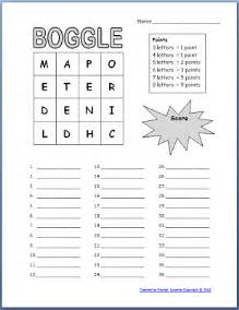 free boggle templates for your classroom minds in bloom