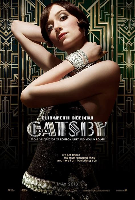 the great gatsby the great gatsby 2013 film promotion fonts in use
