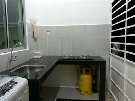 desain dapur sederhana  kitchen set unik  murah