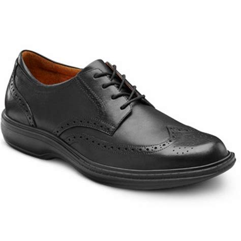 best dress shoes for men comfort dr comfort wing men s therapeutic diabetic dress shoe ebay