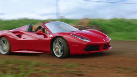 ferrari  spider red sports car   jay hernandez