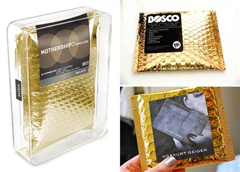 Pack Buble Wrap Packing Tambahan Limited golden wrap packaging design