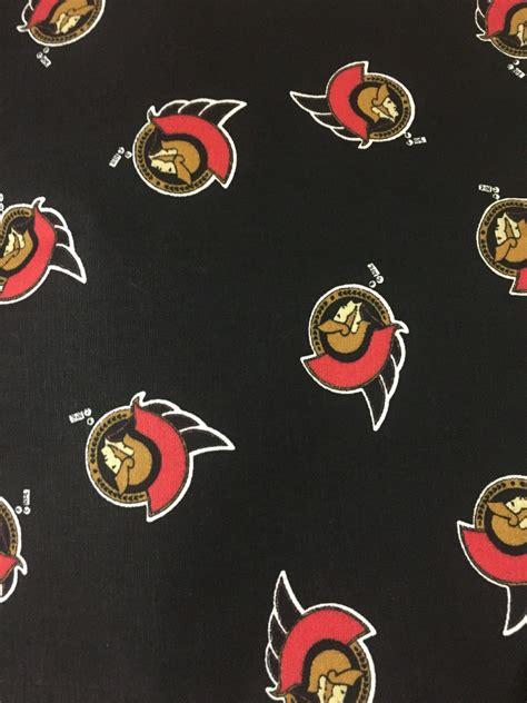 upholstery fabric ottawa 1 2 yard nhl ottawa senators fabric