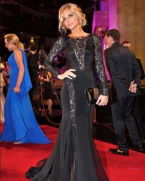 Samora Top Black 2012 logie awards carpet donny galella