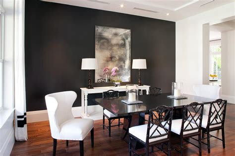 Dark Gray Dining Room | why you must absolutely paint your walls gray freshome com