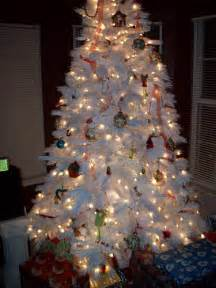 decorated white tree ideas beautiful trees decorating ideas fashions addres