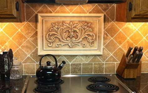 decorative tile inserts kitchen backsplash kitchen backsplash insert home pinterest