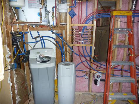 What Is Pex In Plumbing by Water Softener Plumbing Water Softener Pex