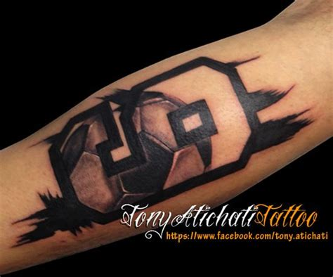 football tattoo ideas best 25 soccer tattoos ideas on